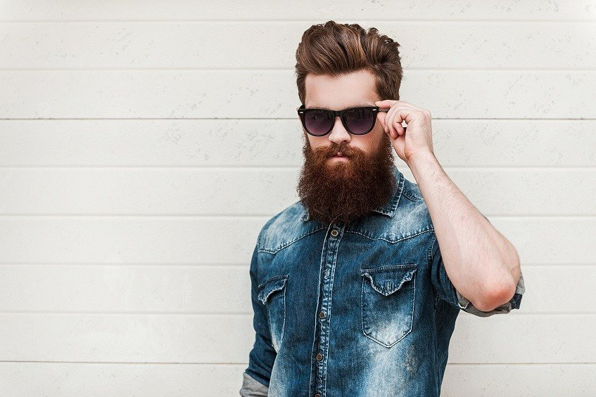 work on your beard to grow it faster