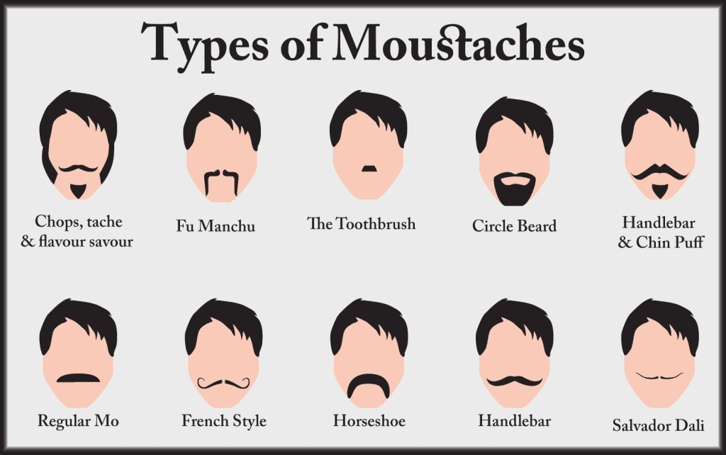 Types Of Handlebar Mustache