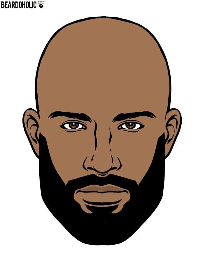 Black Men Full Beard Style