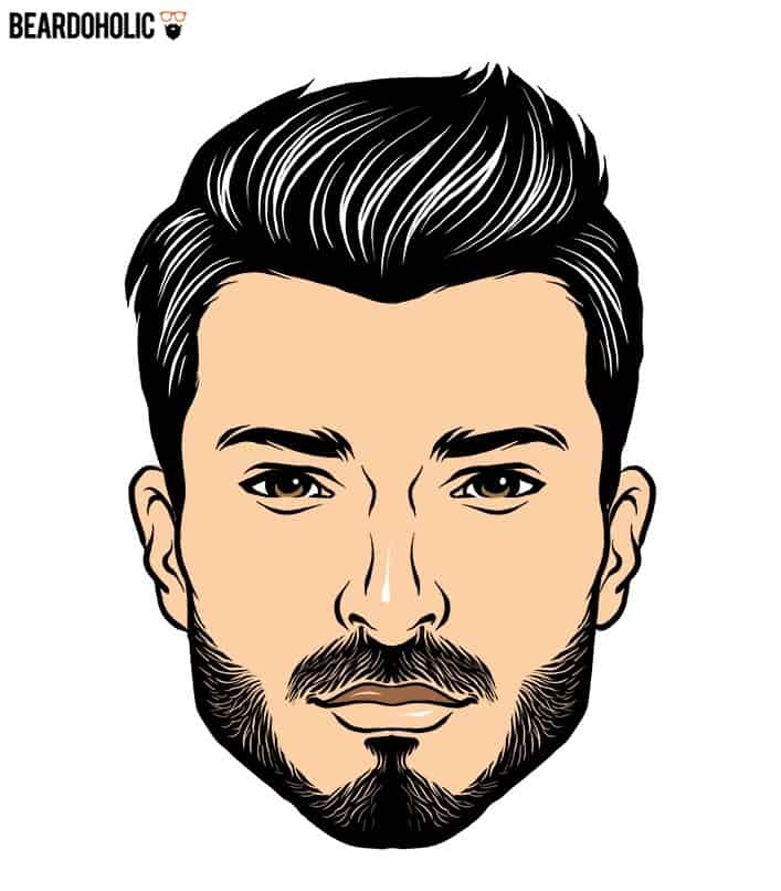 Mid-Length Spikes and Stubble Beard In Short Beard Styles