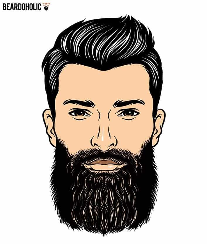 1. The Boss - Full and Long Beard Styles The Boss