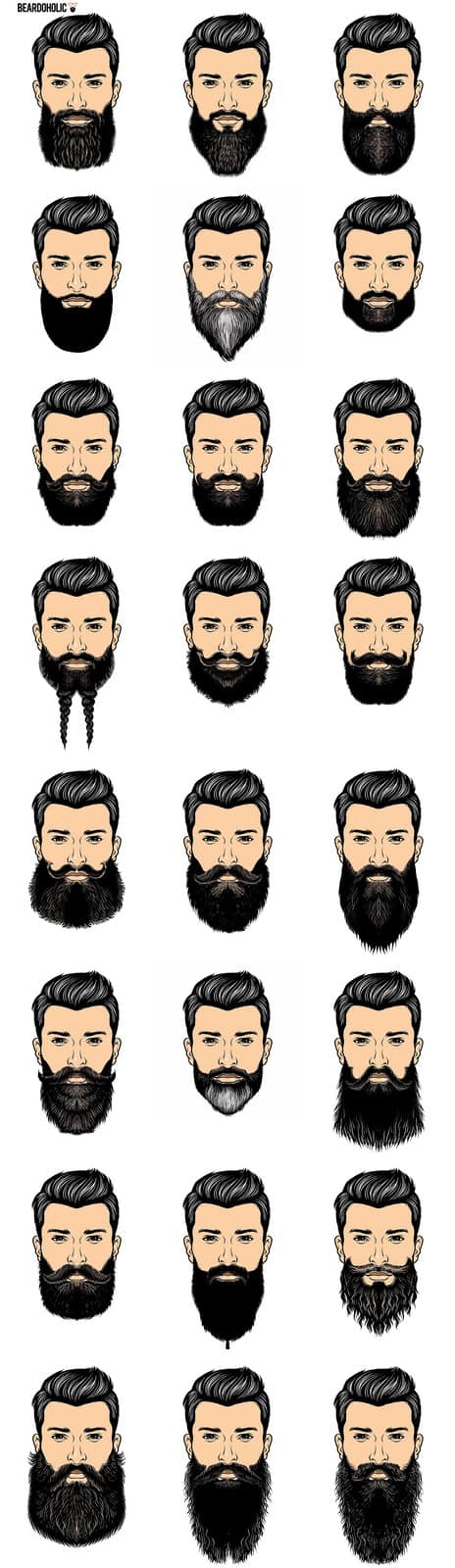 Mens haircut chart faisal abbas abbasfaisal on pinterest
