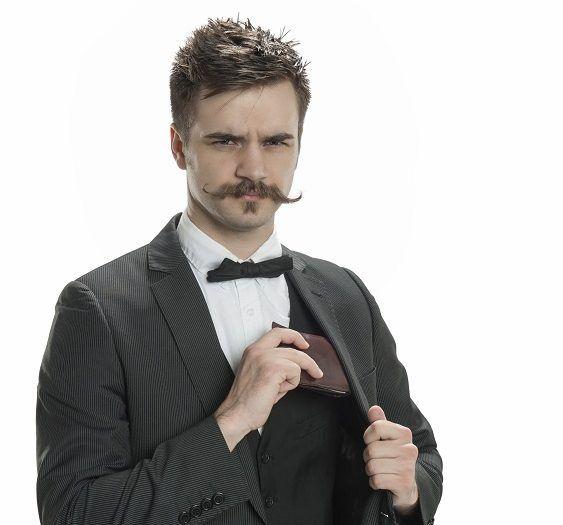 the handlebar mustache style