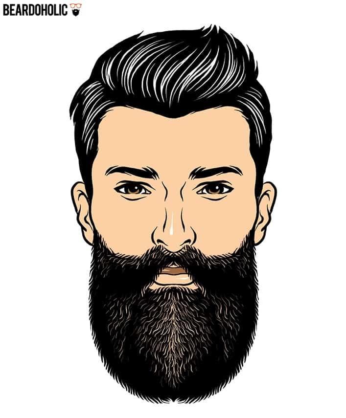 3. The Harden - Full and Long Beard Styles Harden Beard