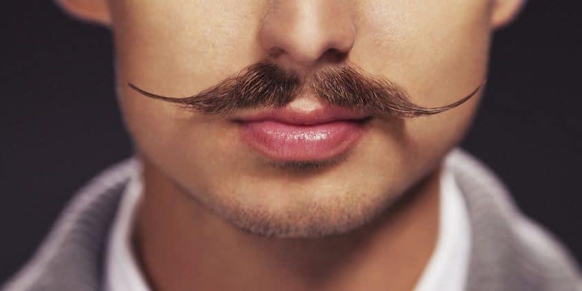 trim a mustache