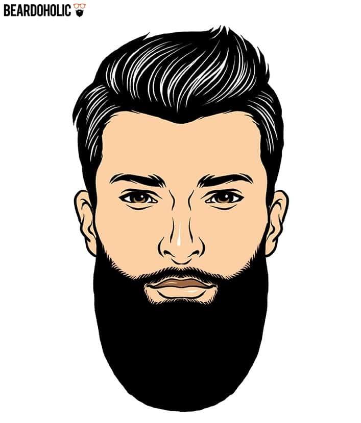 4. Polished Look - Full and Long Beard Styles Polished Beard