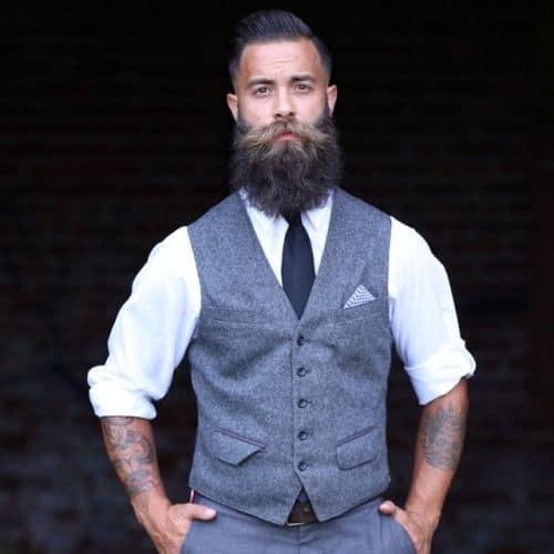 bossy beard style