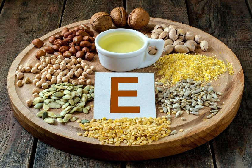 vitamin E rich food - beard vitamins