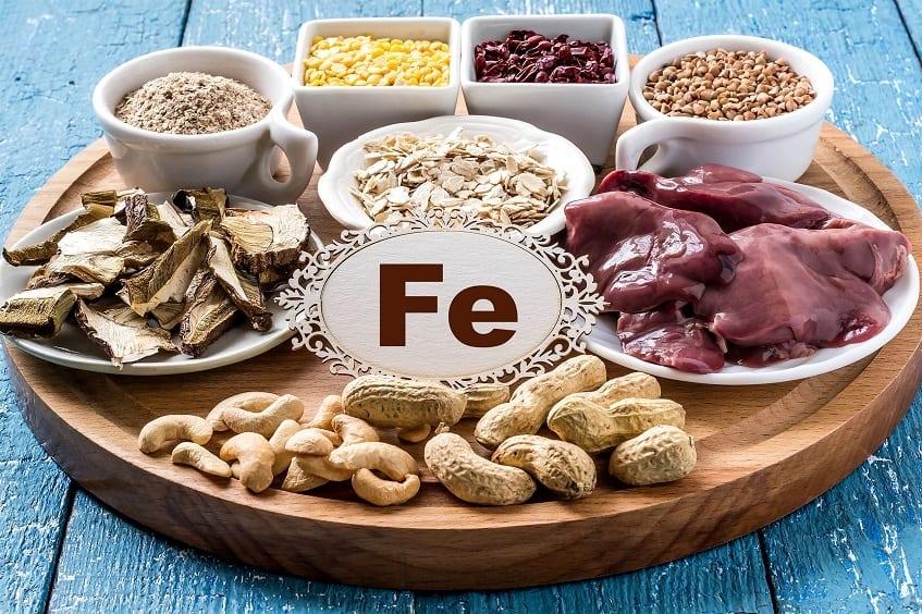 iron rich food - beard vitamins