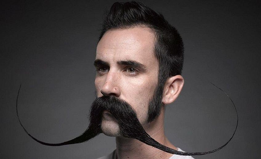 long mustaches - mustache wax