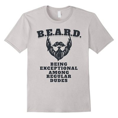 Beadoholic Beard Definition T-shirt for Men   Funny Beard Humor