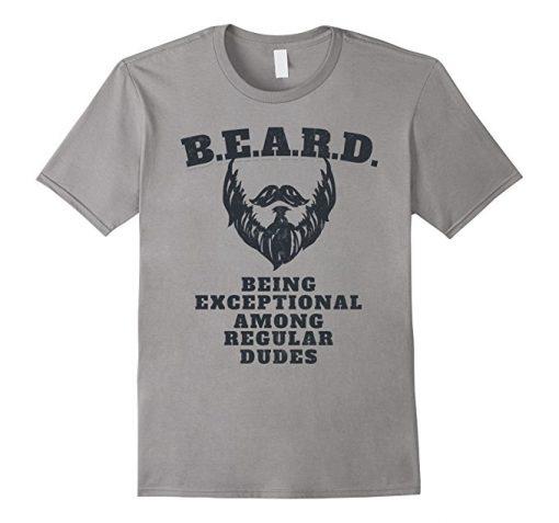 Beadoholic Beard Definition T-shirt for Men | Funny Beard Humor