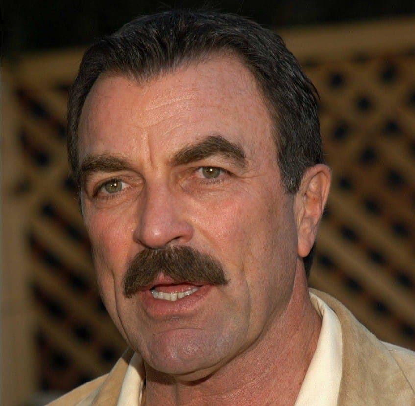 tom selleck s mustache hollywood stache of fame beardoholic. Black Bedroom Furniture Sets. Home Design Ideas