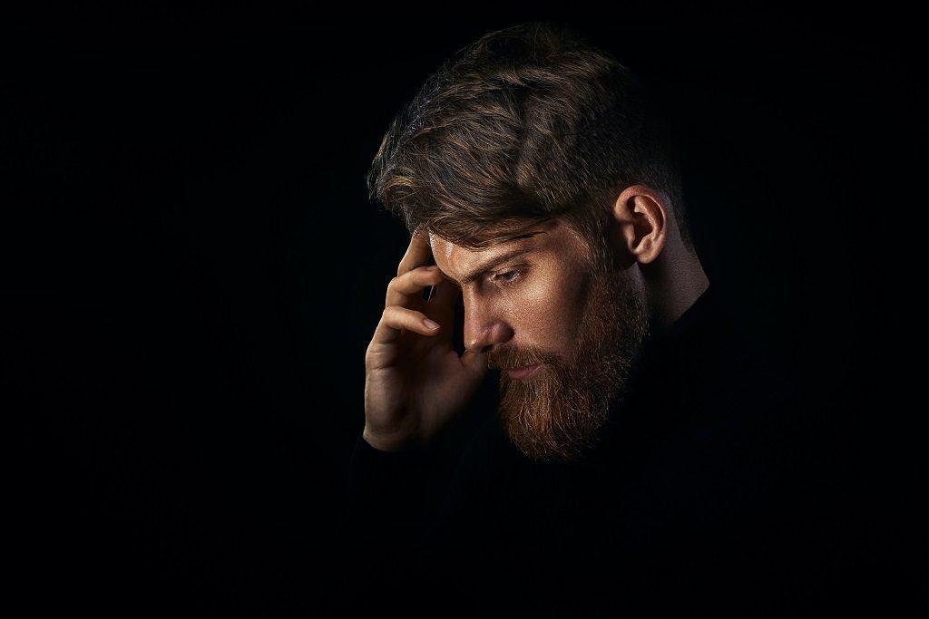 Bearded men worried about losing beard hairs