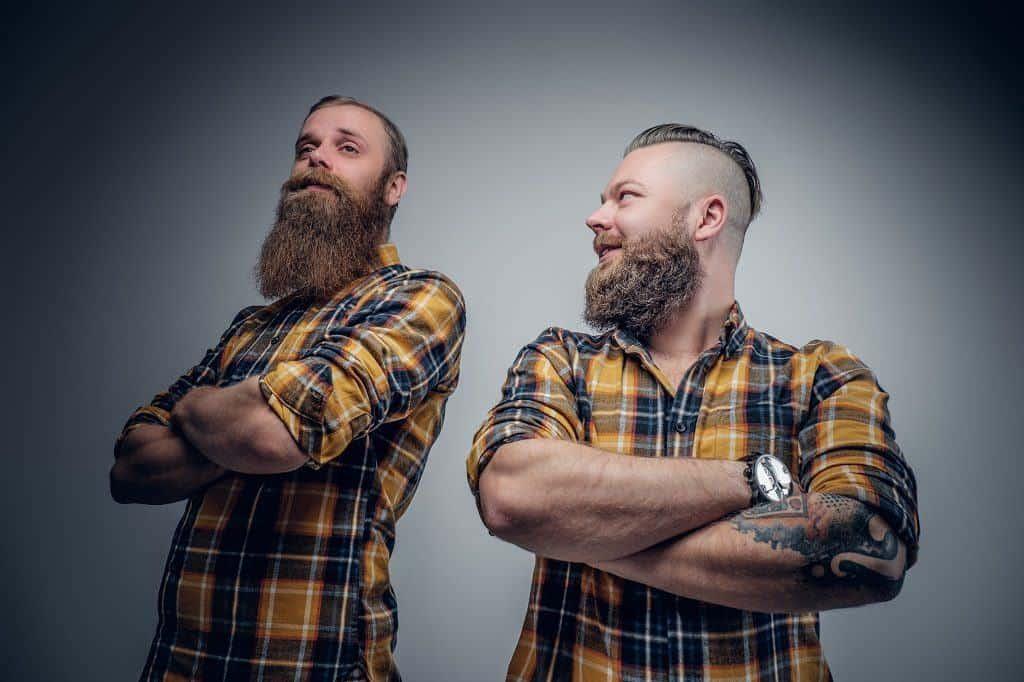 Big bushy beard