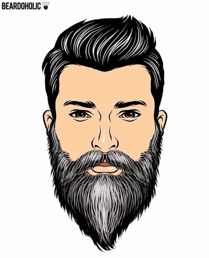 Gray beard style
