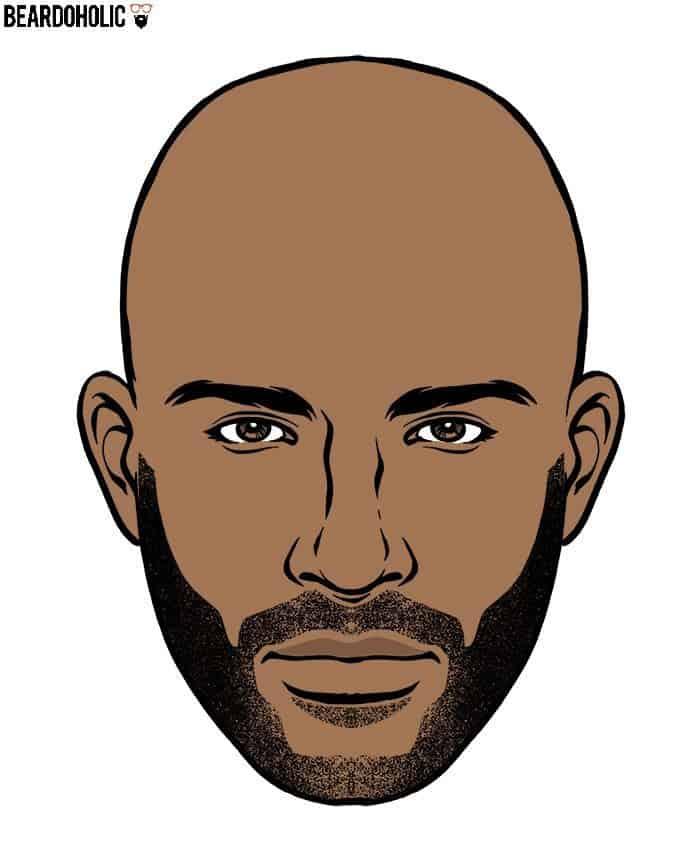 Short beard style
