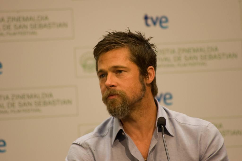 Brad Pitt goatee beard