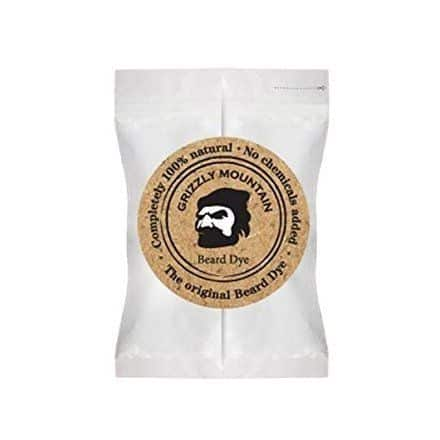 Grizzly Organic & Natural Dark Brown Beard Dye