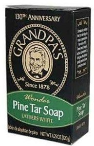 Grandpa's Brands Pine Tar Soap