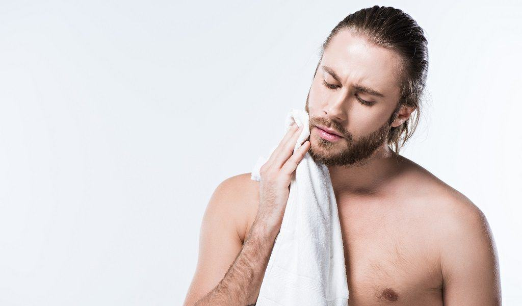 """Image result for dry beard with towel"""""""