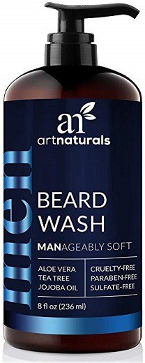ArtNaturals Natural Beard Shampoo Wash