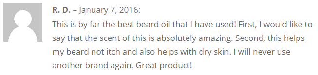 beard oil review on how to stop a beard itch
