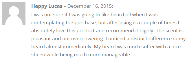 Beardoholic beard oil review
