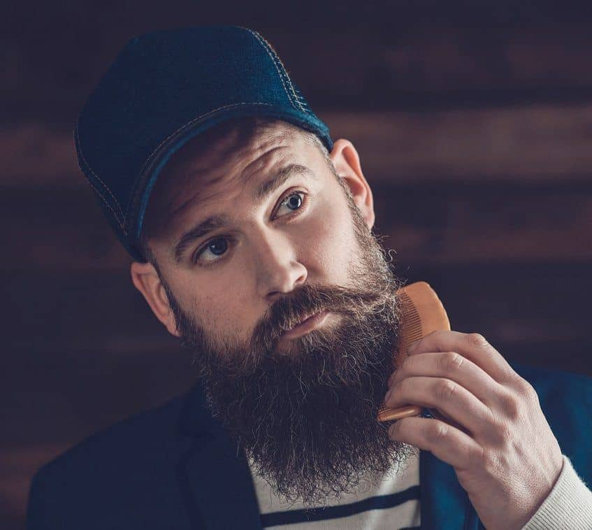 utilizing quality beard comb - beard care