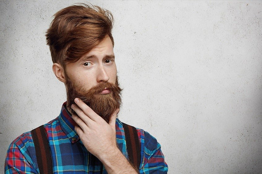 beard care with beard oil