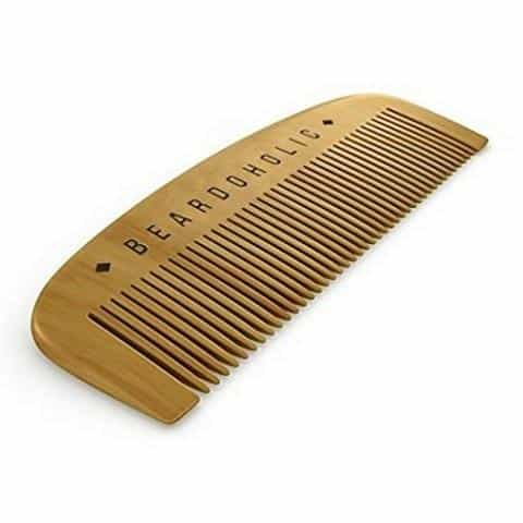 Recommended beard comb:Beardoholic Beard Comb