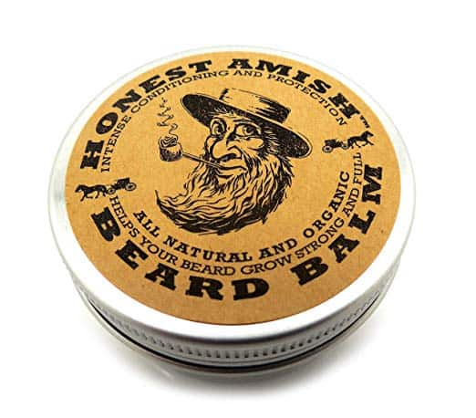 Recommended beard balm: Honest Amish Beard Balm
