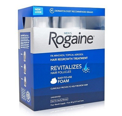 Men's Rogaine Extra Strength 5% Minoxidil Topical Solution