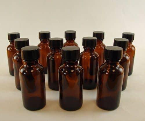 beard oil bottles