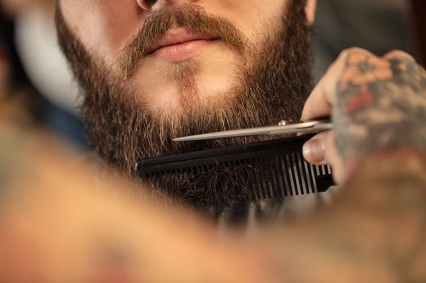 Marvelous Why You Need To Comb Your Beard 5 Essential Benefits Beardoholic Short Hairstyles For Black Women Fulllsitofus