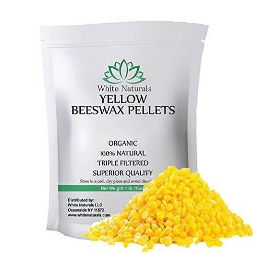 White Naturals Beeswax Pellets