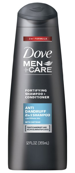 2. Dove Men Care 2-in-1 Conditioner and Anti Dandruff Shampoo