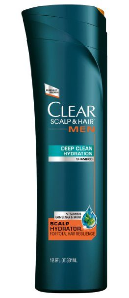 4. Clear Men's Deep Hydration Dandruff Shampoo