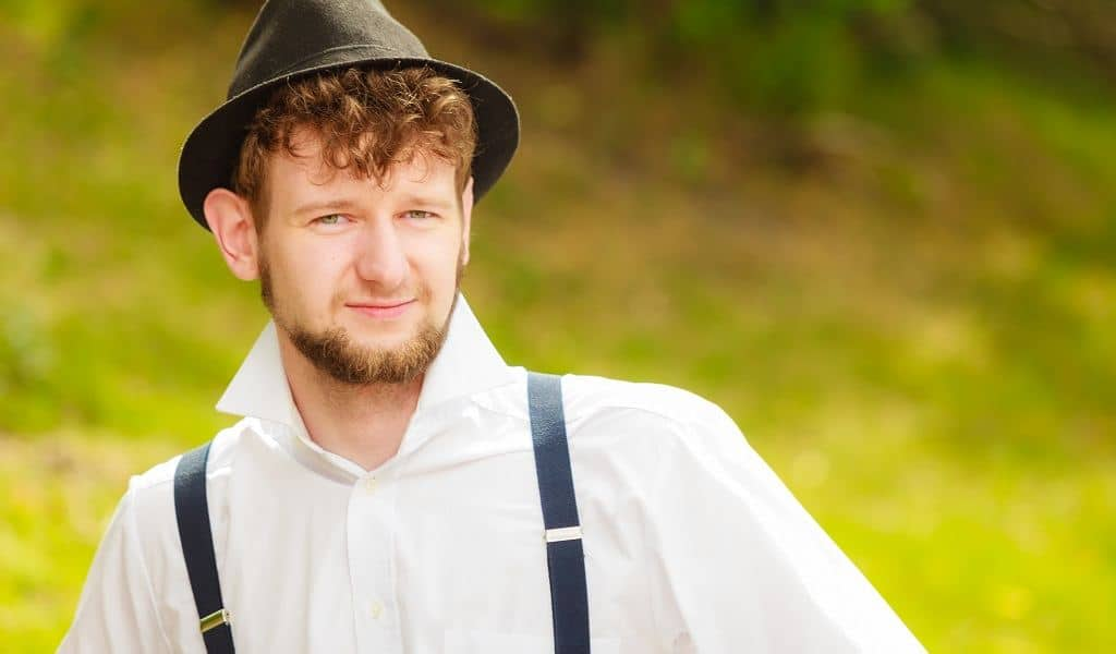 Why Amish Men Grow Beards without a Mustache