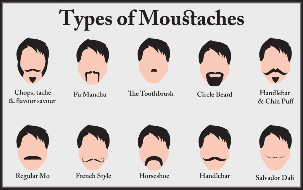 Types Of Handlebar Mustache
