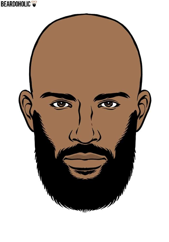 Garibaldi Beard Style For Black Men