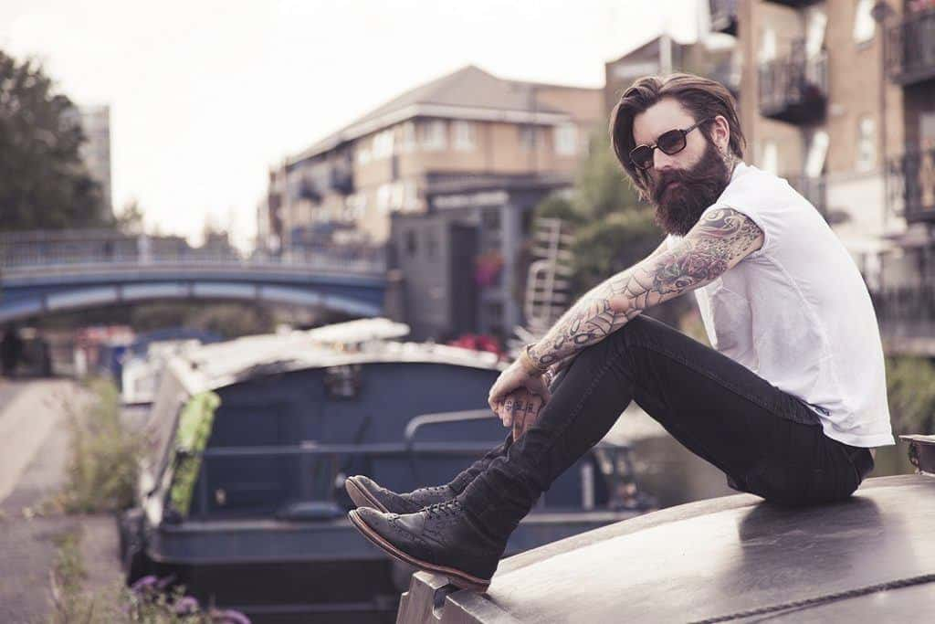 The story behind ricki hall the most famous bearded What is style