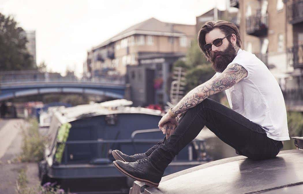 The Story Behind Ricki Hall – The Most Famous Bearded Model