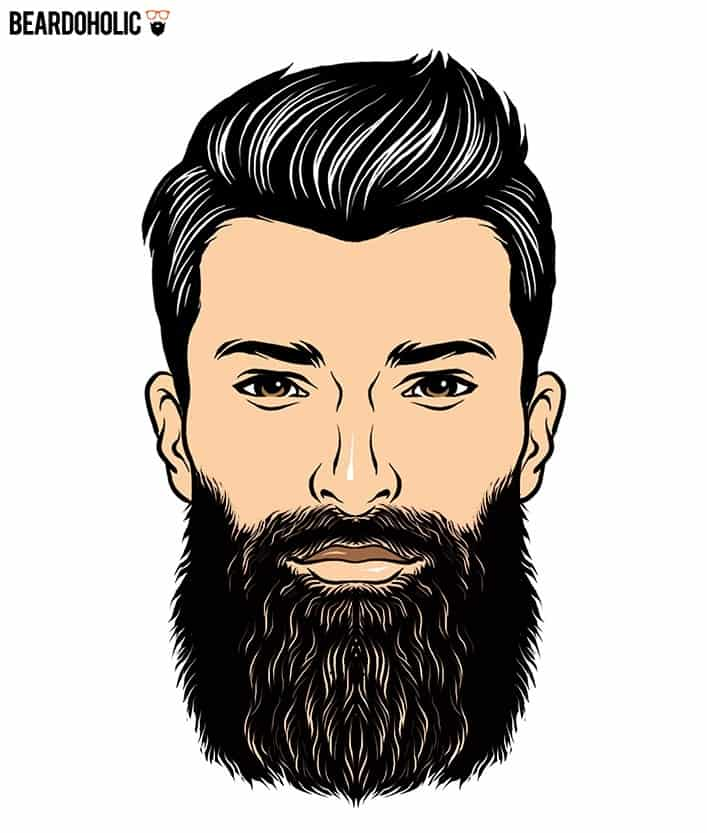 1. The Boss - Full and Long Beard Styles The Boss