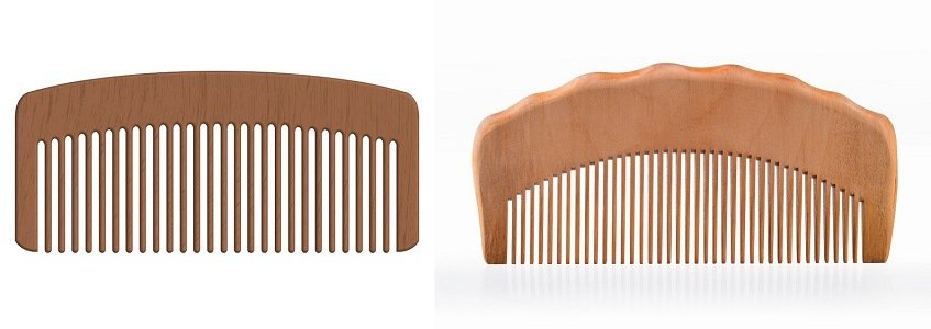 combs to trim a mustache