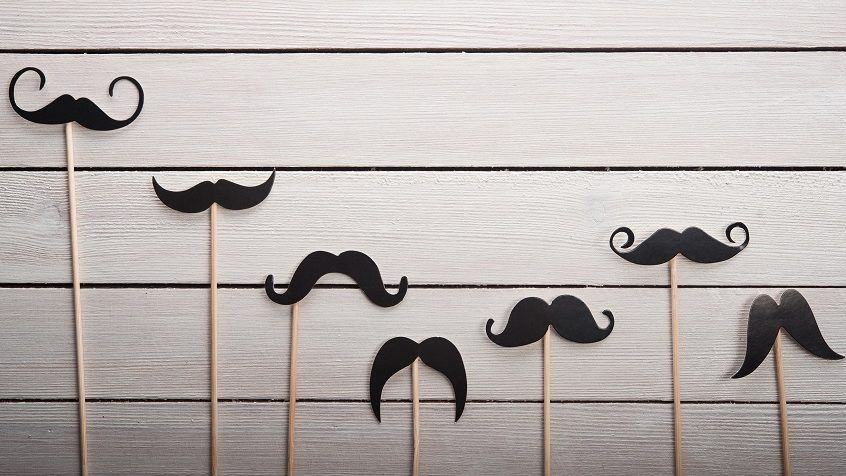 several mustache styles