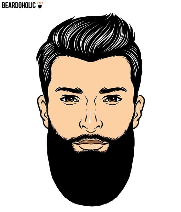 4. Polished Look - Full and Long Beard Styles Polished Beard