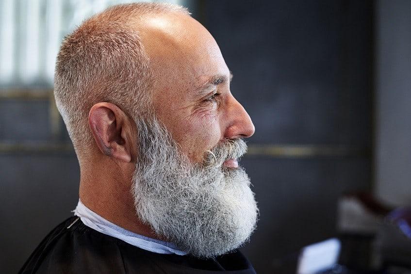 How to trim a big beard