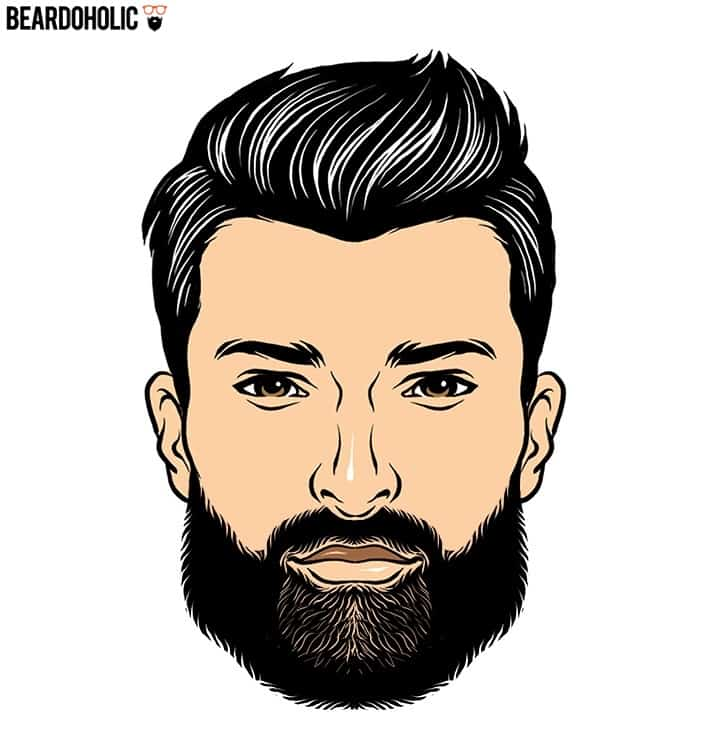 6. The Uniform - Full and Long Beard Styles Polished Beard