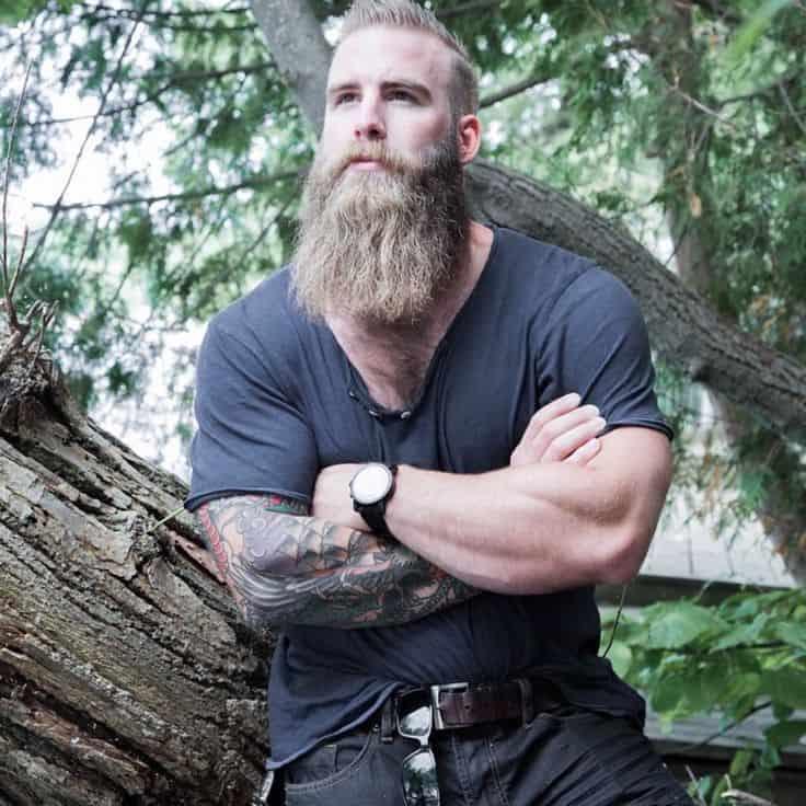 Full and Long Beard Styles: The Boss